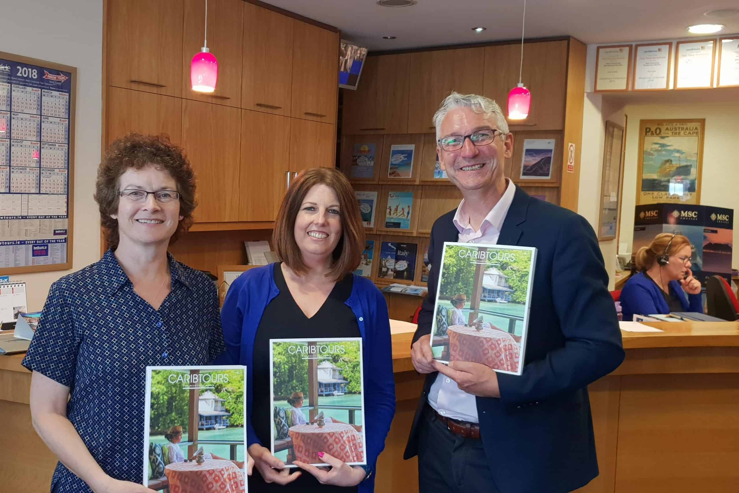 Promoting Caribtours with Fahy Travel Galway