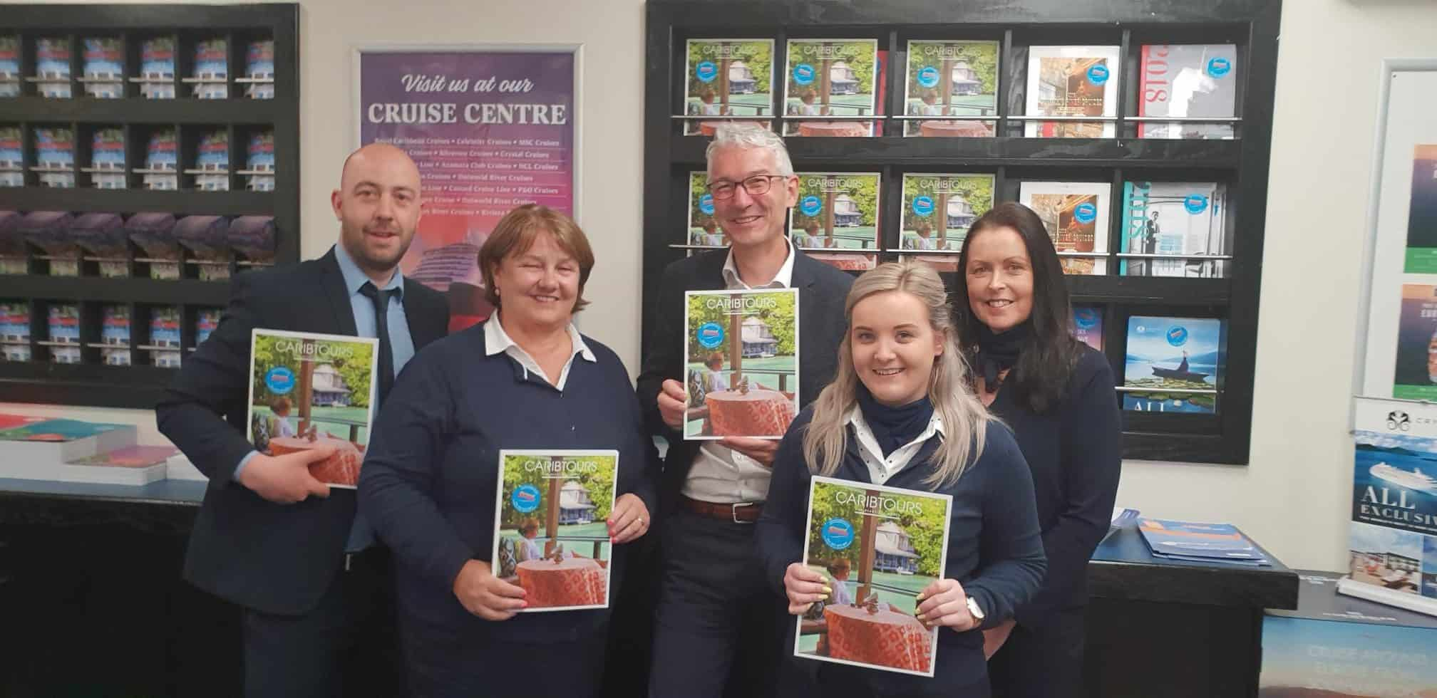 Promoting Caribtours with Strand Travel Waterford
