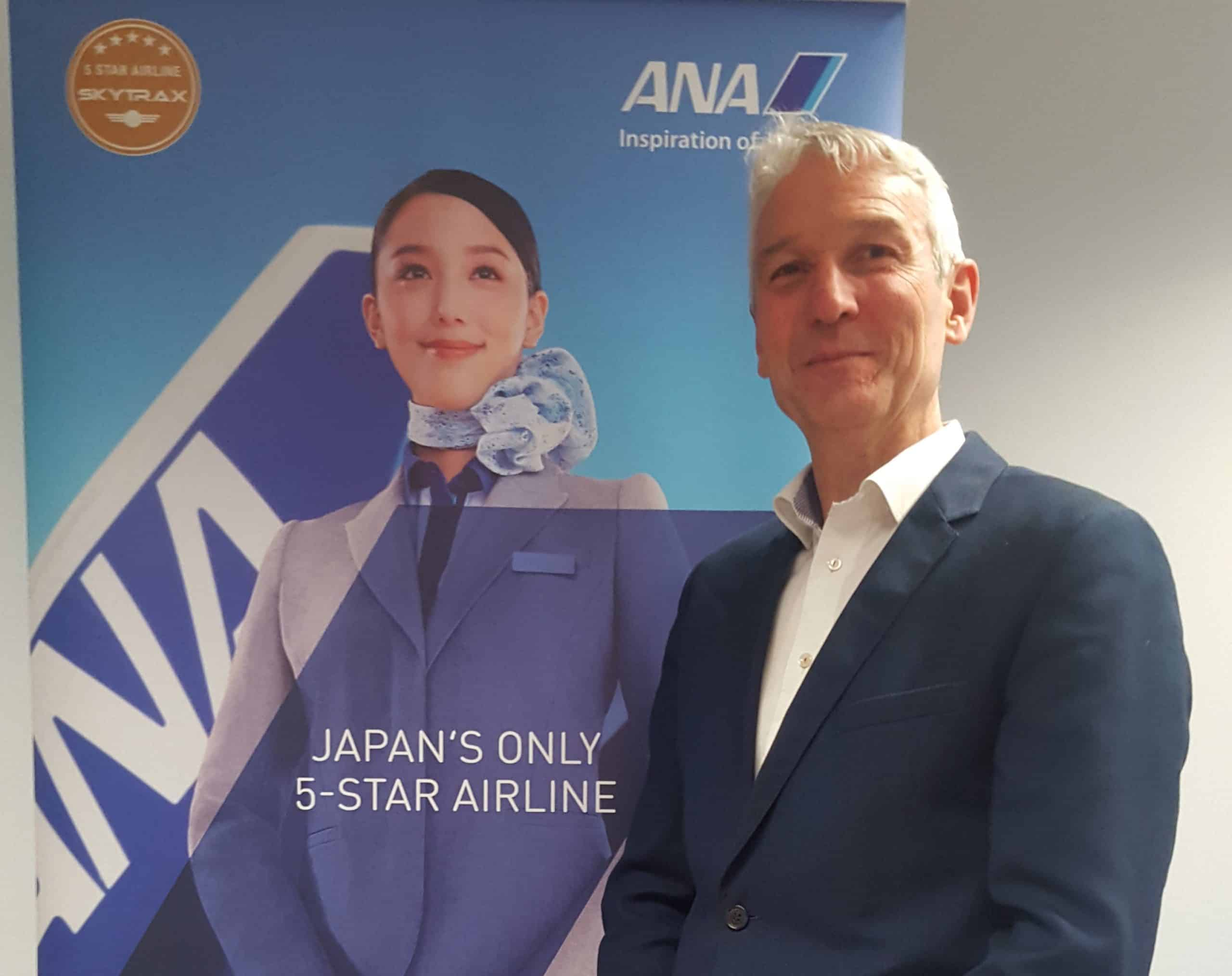 Proud to represent ANA 5-star airline